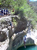 Highest jump, 12m (39 ft.)
