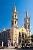 The Immaculate Conception Church exterior in downtown Mazatlan, Mexico.