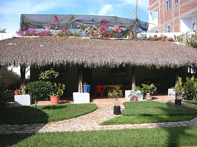 berenice-casita berenice - This is where we stay - nice, cool covered patio