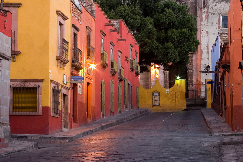 San Miguel Street at Dawn