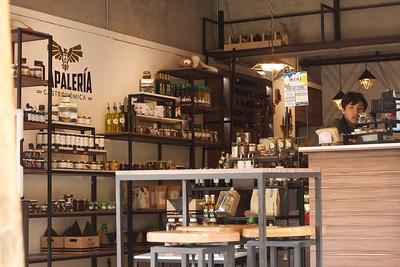 A neighborhood shop in Roma