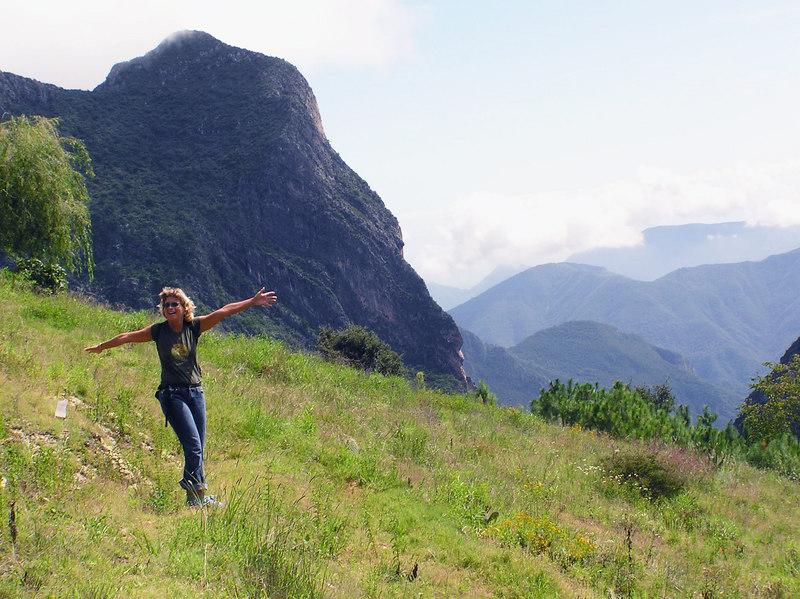 The Hills Are Alive....<br /> Cabanas Mesa del Oso<br /> Between Laguna de Sanchez and Casillas