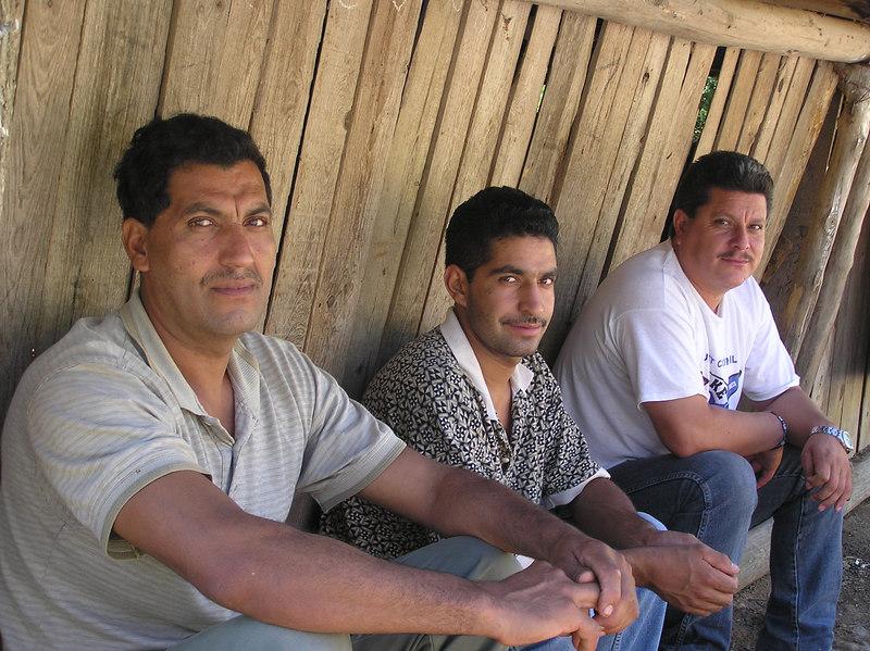 Tui, ___, Ismael,<br /> Potrero Redondo