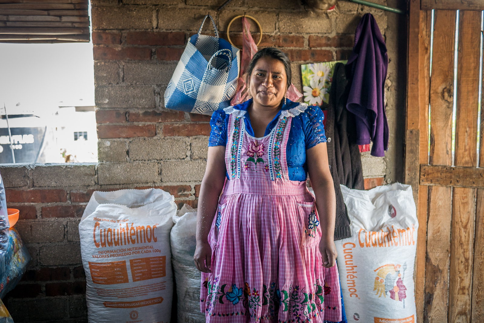 tortilla maker in microfinance loan program