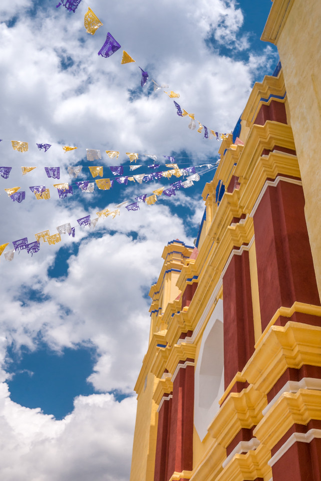 Tejate Festival in the outskirts of Oaxaca City.