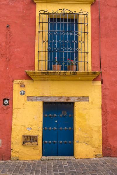 In Oaxaca City, Mexico.