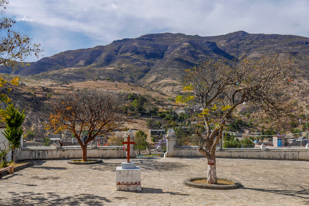 Views of San Miguel Del Valle from the Church