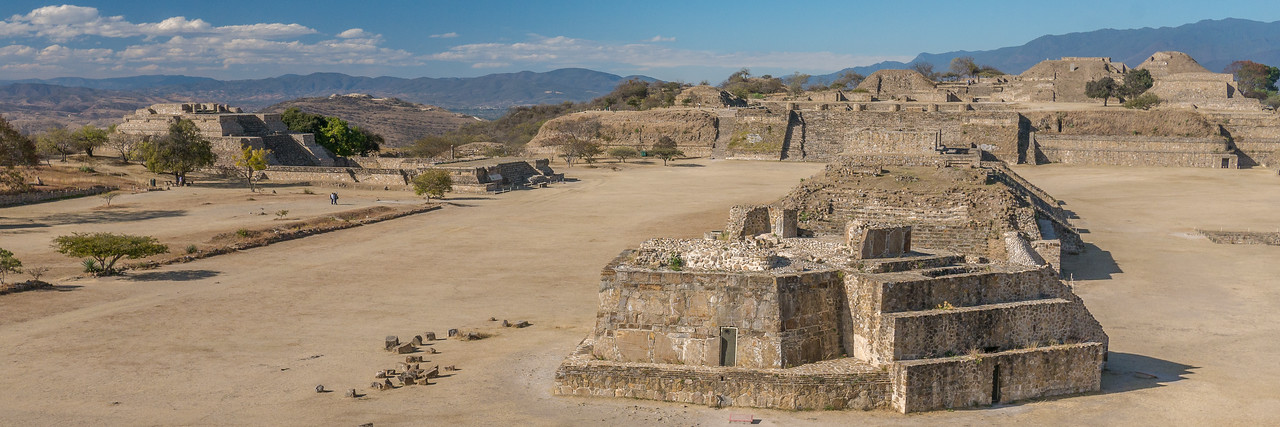 Monte Alban, Oaxaca Valley, Mexico