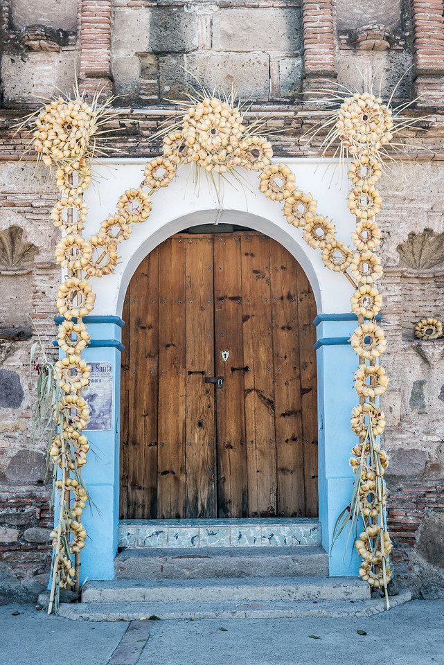 Church in Diaz Ordaz, Oaxaca Valley, Mexico