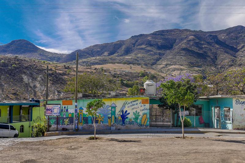 San Miguel Del Valle from the Municipio