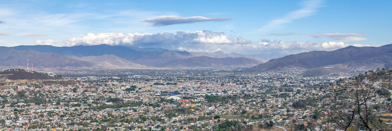 Views of the Oaxaca Valley from Monte Alban