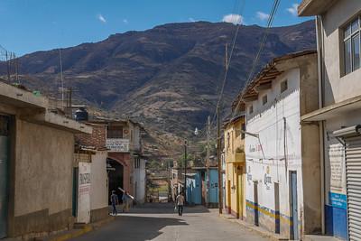 Streets of  San Miguel del Valle in Oaxaca