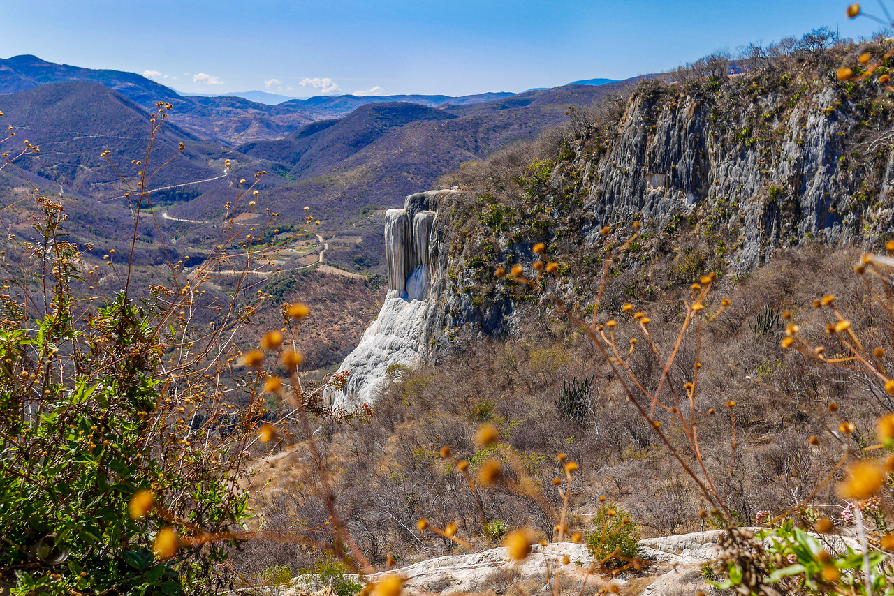 The boiling waterfalls of Hierve el Agua