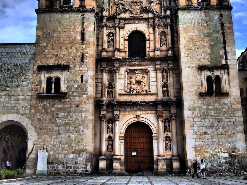 Church in Oaxaca, Mexico courtesy of Jodi from legalnomads.com