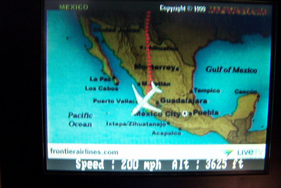 Landing at Puerto Vallarta