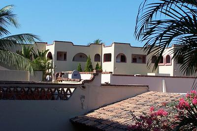 Looking  back towards our room at Villas Vallarta.