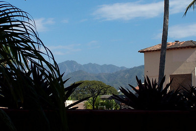 View from our timeshare at Villas Vallarta.