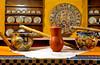 Dining room decor at the Decameron Resort in Puerto Vallarta, Mexico.