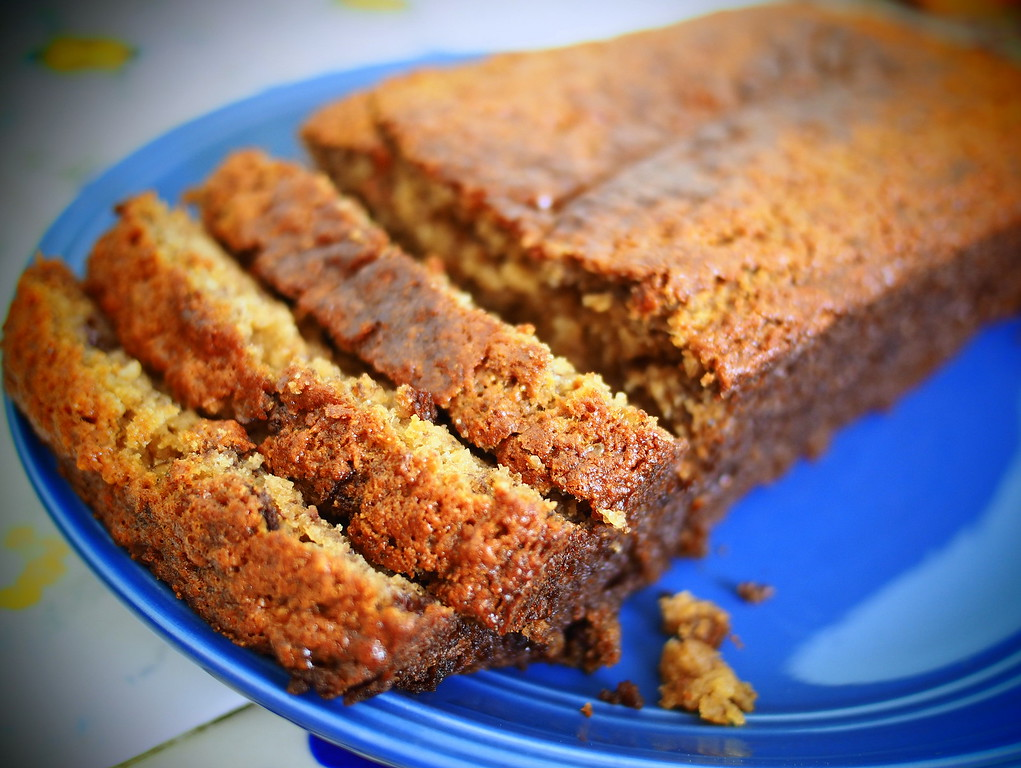 healthy gluten free banana bread recipe