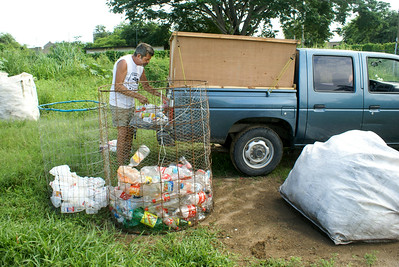 American Volunteer in Mexican Recycling Project, 2010