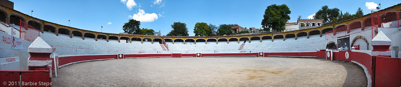 The Bull fighting arena in SM