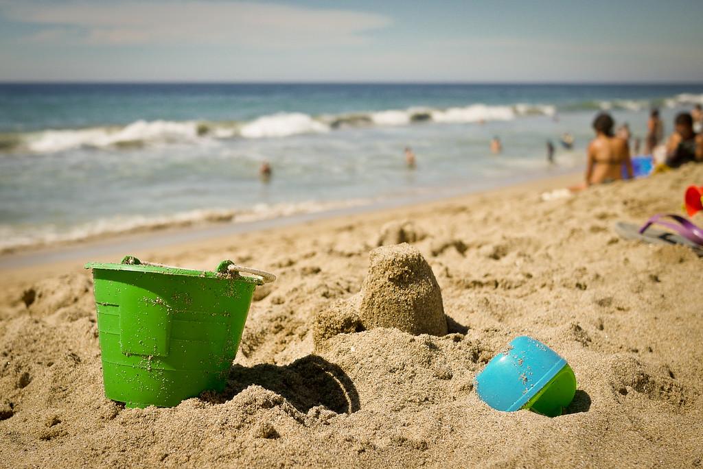 Sand toys on the san francisco nayarit beach