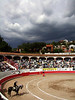 Bullfight & Coming Storm