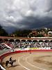 Bullfight & Coming Storm