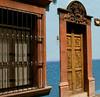 Colonial-Style Door & Window