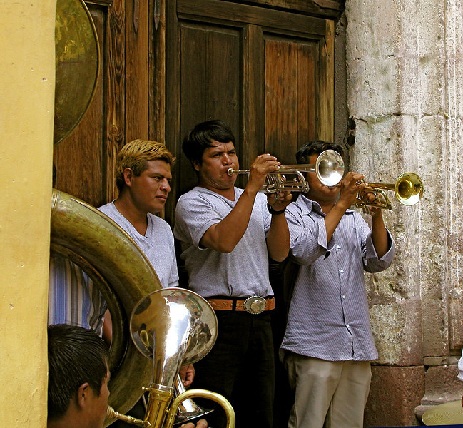 Band on the Corner