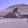 Nearby are the famous pyramids of Teotihuacan,