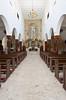 The Sagrado Corazon de Jesus Church interior sanctuary in Los Mochis, Sinaloa, Mexico.