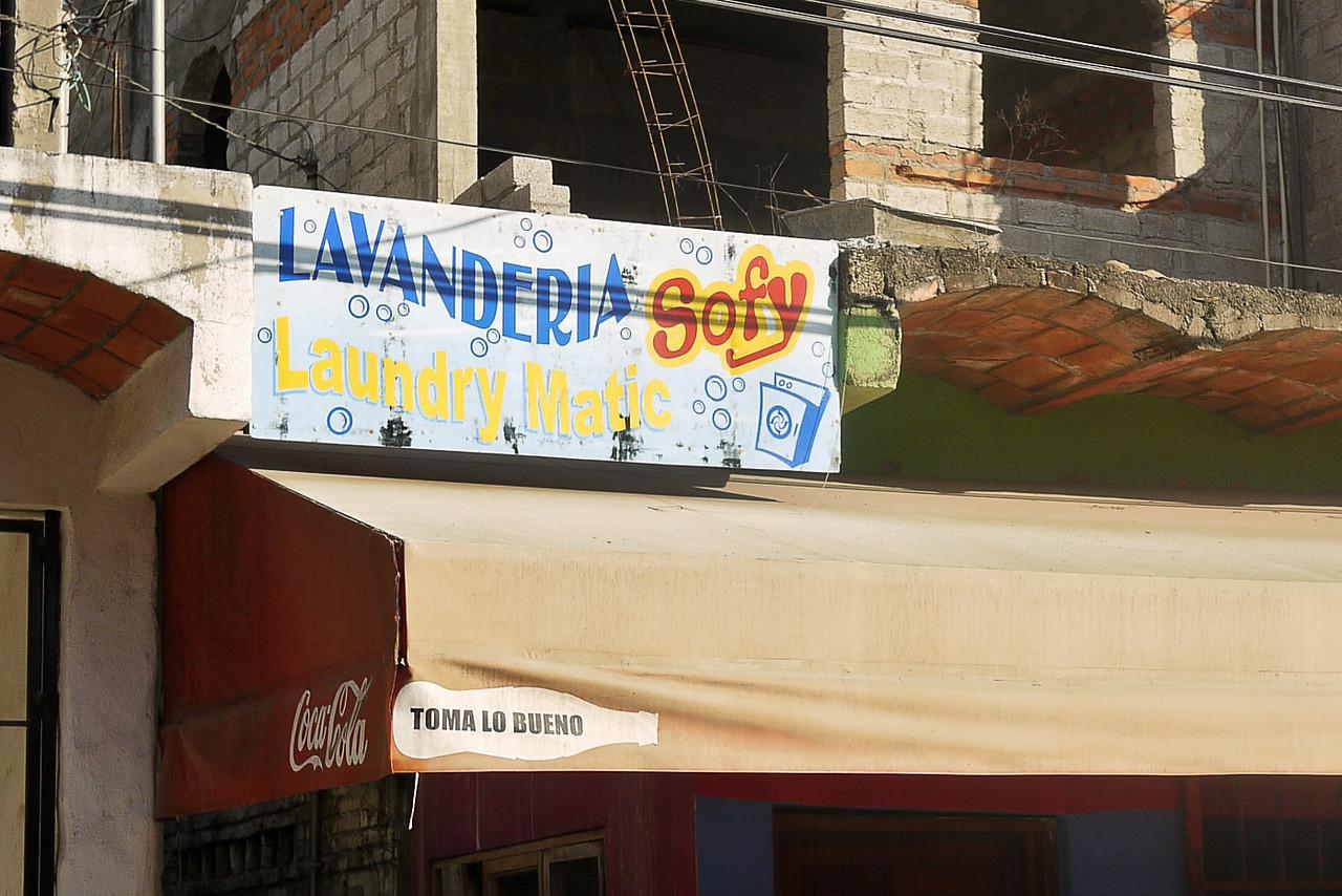 The lavanderia in San Pancho, Mexico.