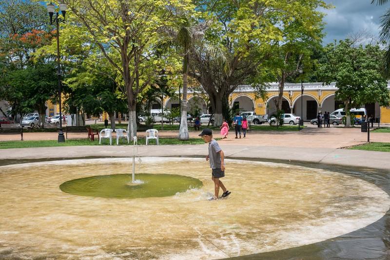 Parque central Izamal