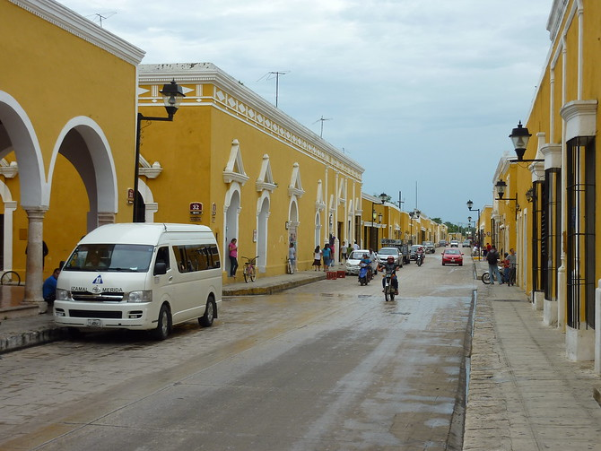 Yellow buildings, Izamal - Mexico