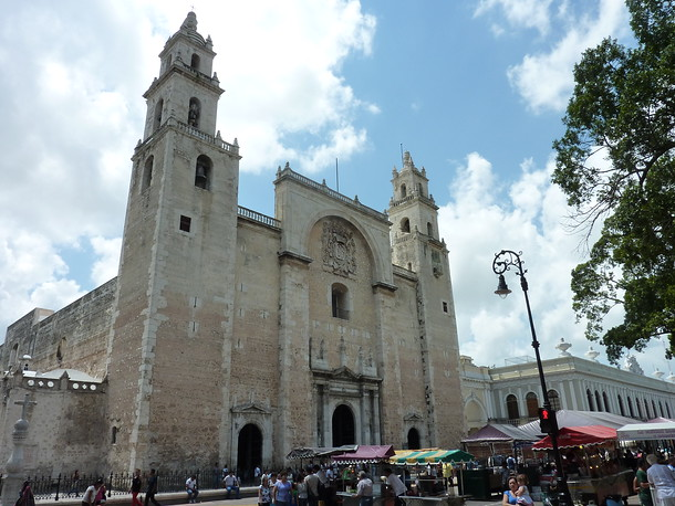 Cathedral of San Ildefonso, Mérida - Mexico
