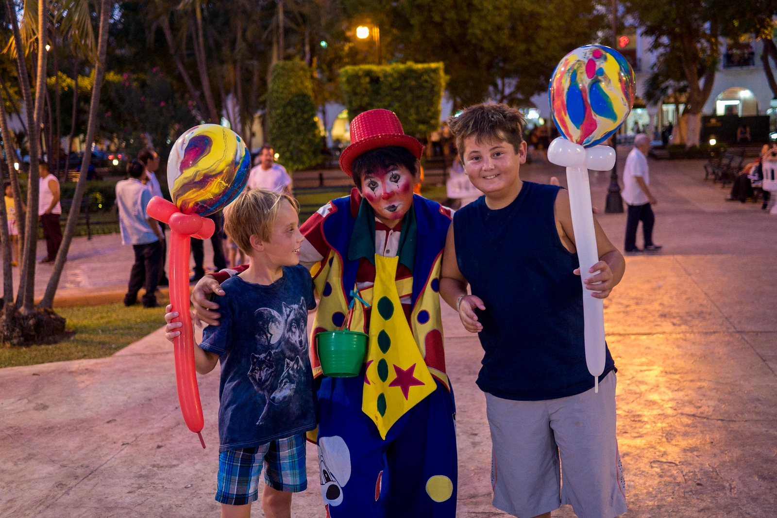 clown in merida