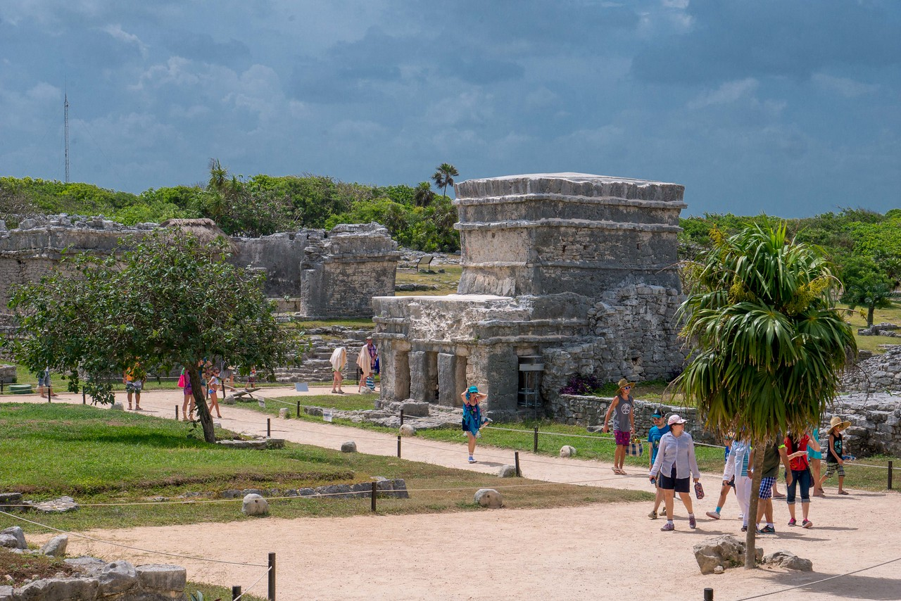 The beaches and ruins of Tulum, Riviera Maya, Mexico.