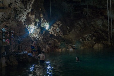 At the cenotes near Chichen Itza, all just outside of Valladolid, Mexico.