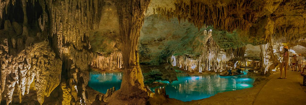 Gorgeous underground river