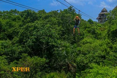 At Xplor Park in the Yucatan Peninsula's Riviera Maya.