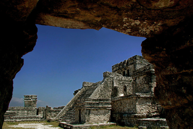 Courtyard of El Castillo (The Castle)