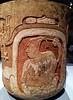 Mayan Moon Goddess Holding a Coatimundi