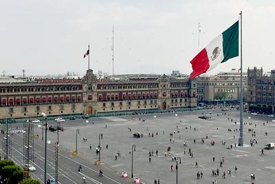 Plaza del Zócalo, Plaza de la Constitución, Mexico City, Mexico