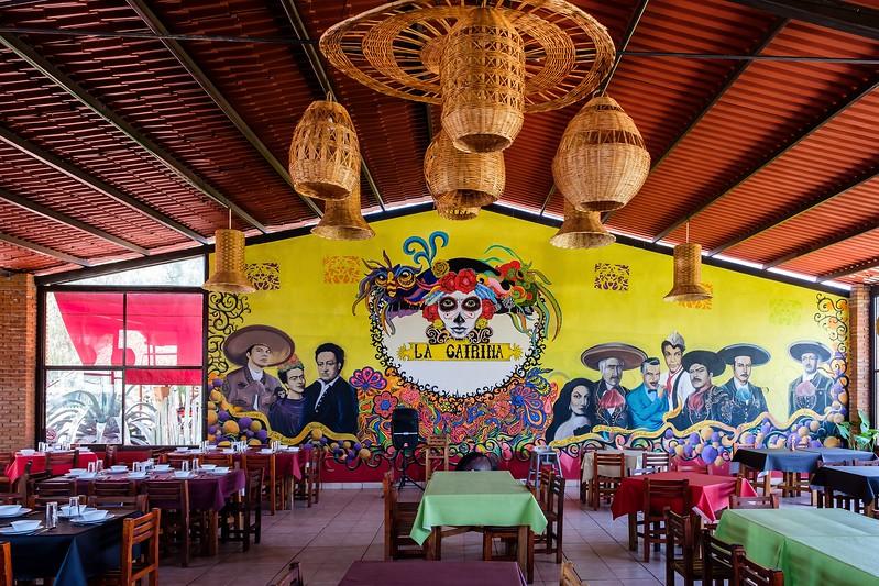 La Catrina restaurant.