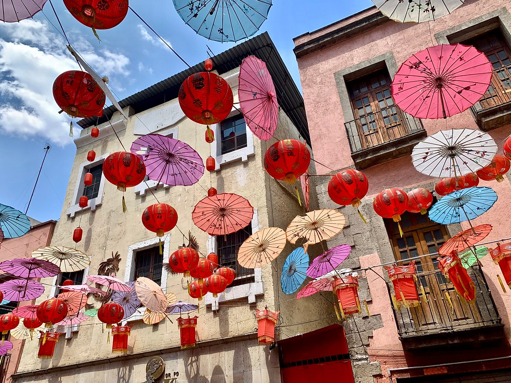 Chinatown in Mexico City, Mexico