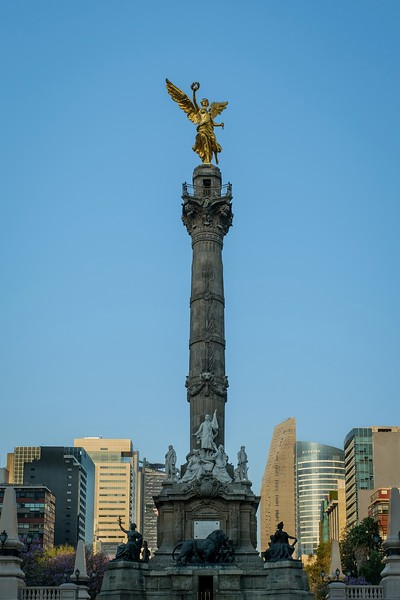 Angel of Independence.