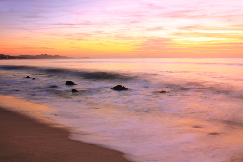 Daybreak Seascape in Cabo San Lucas, Mexico