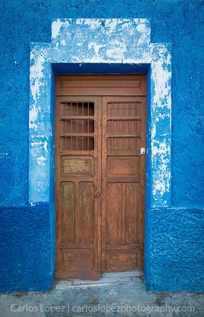 Calles de Merida, Blue #1