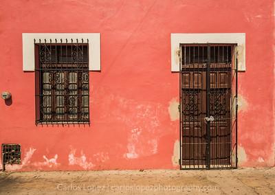 Calles de Merida,  Pink #3